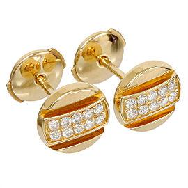 Chaumet 18K Rose Gold & Diamonds Earrings