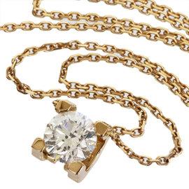 Cartier 18K Pink Gold & 0.55ct Diamond Necklace