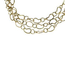 Ippolita 18k Yellow Gold Glamazon Kidney Link Chain Necklace