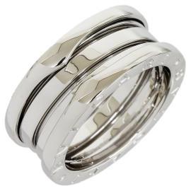 Bulgari B.Zero 3-Band 18K White Gold Ring