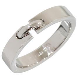 Chaumet Lien de 18K White Gold Band Ring Size 6.5