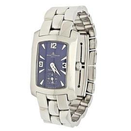 Tiffany & Co. Baume Mercier Geneve Swiss Stainless Steel 22mm Watch