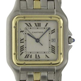 Cartier Panthere 110000R Stainless Steel/18K Yellow Gold Quartz 26mm Womens Watch