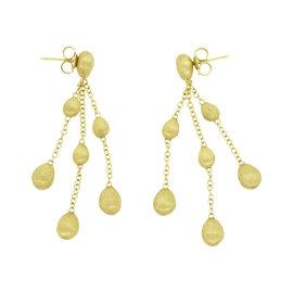 Marco Bicego 18K Yellow Gold Siviglia Triple Chandelier Earrings