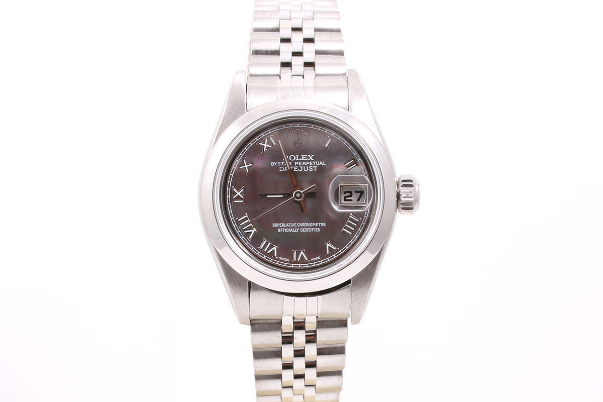 """Image of """"Rolex Datejust Stainless Steel Tahitian Mother Of Pearl Roman Dial"""""""