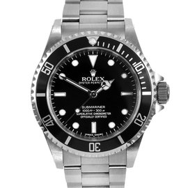 Rolex Submariner 14060M Stainless Steel Black Dial 4 Liner 40mm Mens Watch 2006