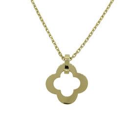 Van Cleef & Arpels Alhambra Byzantine 18K Yellow Gold Necklace