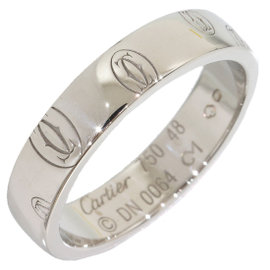 Cartier 18K White Gold Ring Size 4.5
