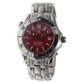 Omega Seamaster Professional 300m 2562.60 Date Stainless Steel Quartz 36mm Mens Wrist Watch