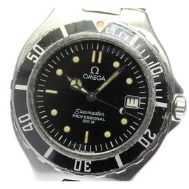 Omega Seamaster Stainless Steel with Black Dial 36mm Mens Watch