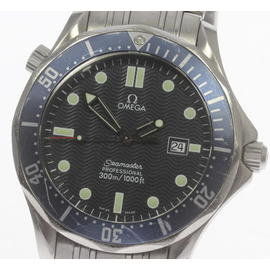 Omega Seamaster 2541.80 Stainless Steel with Navy Blue Dial 41mm Mens Watch