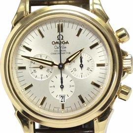 Omega Deville 46413032 18K Gold 41mm Mens Watch