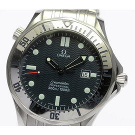 Omega Seamaster 2542.80 Stainless Steel with Navy Blue Dial 41mm Mens Watch