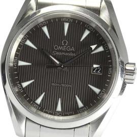 Omega Seamaster Aqua Terra 231.10.39.60.06.001 Stainless Steel Quartz 37mm Mens Wrist Watch