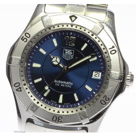 Tag Heuer Diving Watch WK2117-1 Stainless Steel 39mm Mens Watch