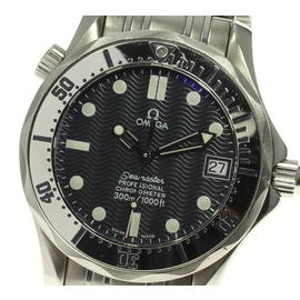 Omega Seamaster 2552.80 Stainless Steel with Navy Blue Dial 36mm Unisex Watch