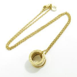 Bulgari 18K Yellow Gold B-zero1 Pendant Necklace