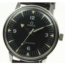 Omega Seamaster Stainless Steel 34mm Mens Watch