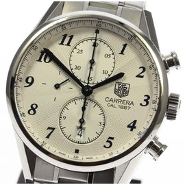 Tag Heuer Carrera CAR2114-0 Stainless Steel 41mm Mens Watch