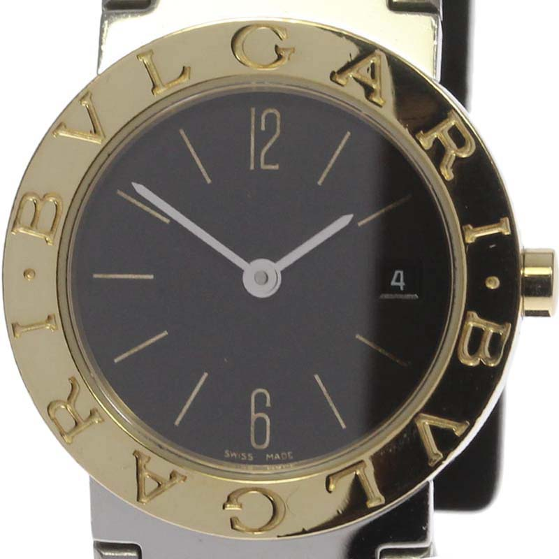 "Image of ""Bulgari Bb26Sg 18K Yellow Gold / Stainless Steel 26mm Womens Watch"""