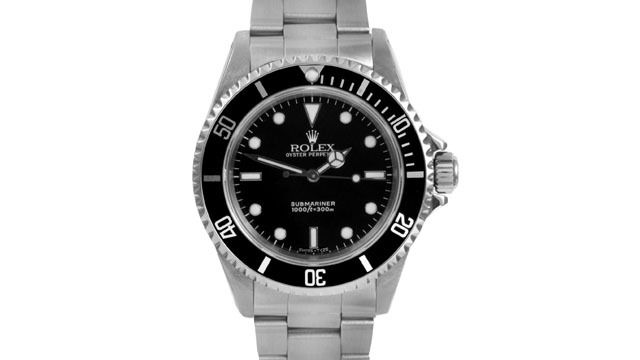 """Image of """"Rolex Submariner 14060 Stainless Steel 40mm Mens Watch"""""""