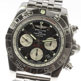 Breitling Chronomat44 AB0115 A011B67PA Stainless Steel Automatic 44mm Men's Watch