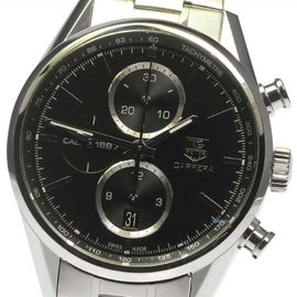 Tag Heuer Carrera CAR2110-3 Stainless Steel Chronograph Automatic 41mm Mens Watch