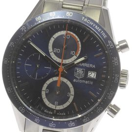 Tag Heuer Carrera CV2015.BA0786 Chronograph Stainless Steel Automatic 41mm Mens Watch