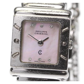 Philippe Charriol ST.TROPEZ Stainless Steel / 925 Sterling Silver 20mm Womens Watch