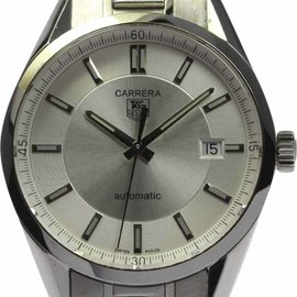 Tag Heuer Carrera WV211A-0 Stainless Steel 39mm Mens Watch