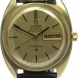 Omega Constellation Chronometer Stainless Steel/Gold Plated Automatic 35mm Mens Watch