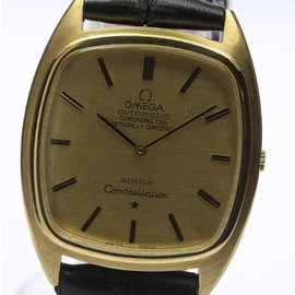 Omega Constellation Gold Automatic 31mm Mens Watch