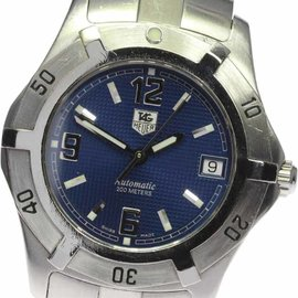 Tag Heuer Diving Watch WN2112 Stainless Steel 38mm Mens Watch