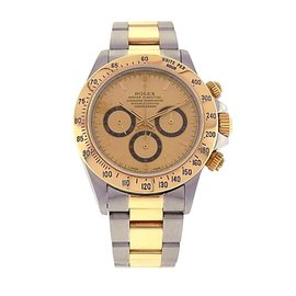 Rolex Daytona 16523 18K Yellow Gold and Stainless Steel Automatic 40mm Mens Watch