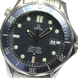 Omega Seamaster Professional 300m 2541.80 Stainless Steel Quartz 41mm Mens Watch