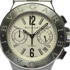 Bulgari Diagono DG40SCH Chronograph Stainless Steel Automatic 40mm Mens Watch