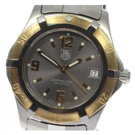 Tag Heuer Diving Watch WN1151 Gold Plated / Stainless Steel 39mm Mens Watch