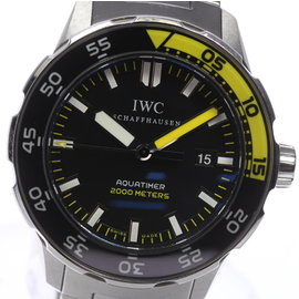 IWC Schaffhausen Aquatimer IW356801 Stainless Steel 44 mm Mens Watch