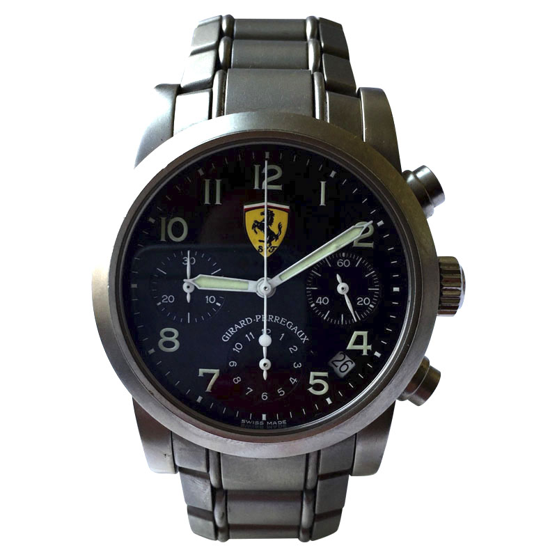 "Image of ""Girard-Perregaux Ferrari Stainless Steel Automatic 38mm Mens Watch"""