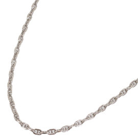 Hermes Chaine d'Ancre 18K White Gold Necklace