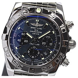 Breitling Chronomat AB0111 Stainless Steel Black Dial Automatic 44mm Men's Watch