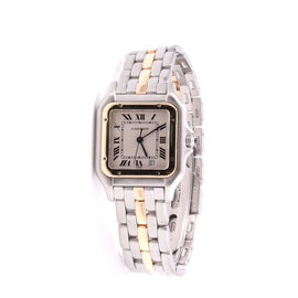 Cartier Panthere 18K Yellow Gold / Stainless Steel 27mm Unisex Watch