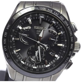 Seiko Astorn SBXB045 8X53 Titanium Black Dial Quartz 41mm Men's Watch