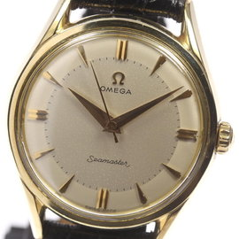Omega Seamaster Stainless Steel / Gold Plated Vintage 36mm Mens Watch