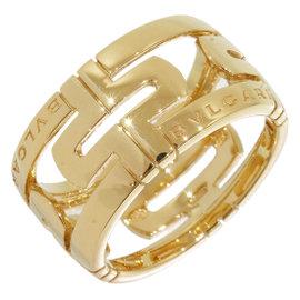 Bulgari Bvlgari B.Zero1 Parentesi 18K Yellow Gold Ring Size 7.75