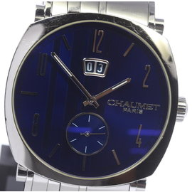 Chaumet W11680.47C Stainless Steel Blue Dial Automatic 39mm Mens Watch