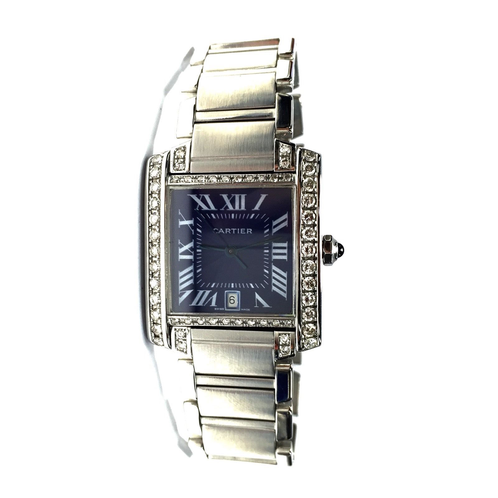 "Image of ""Cartier Stainless Steel 28mm Unisex Watch"""