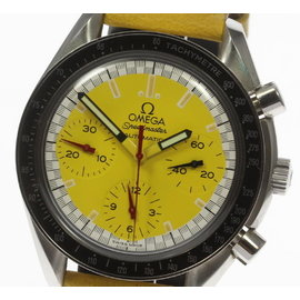 Omega Speedmaster 3510.12 Stainless Steel / Leather 39mm Mens Watch