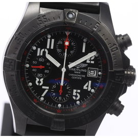 Breitling Avenger Skyland M13380 Stainless Steel & Rubber Automatic 45mm Mens Watch