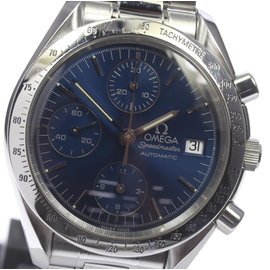 Omega Speedmaster Date Chronograph 3511.80 Stainless Steel Automatic 39mm Mens Watch